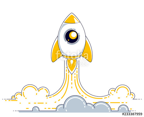 png library library Universe vector science. Rocket launch into undiscovered