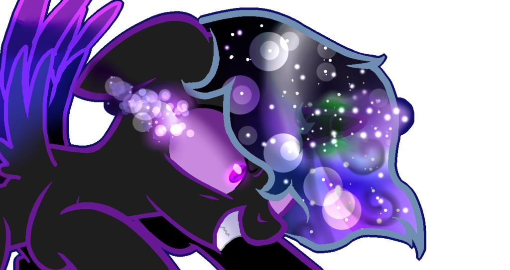 image transparent stock Nightmare or midnight by. Universe vector sketch