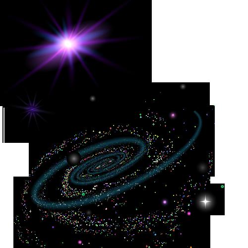 clip transparent Universe vector space wallpaper. Nebula graphic design galaxy