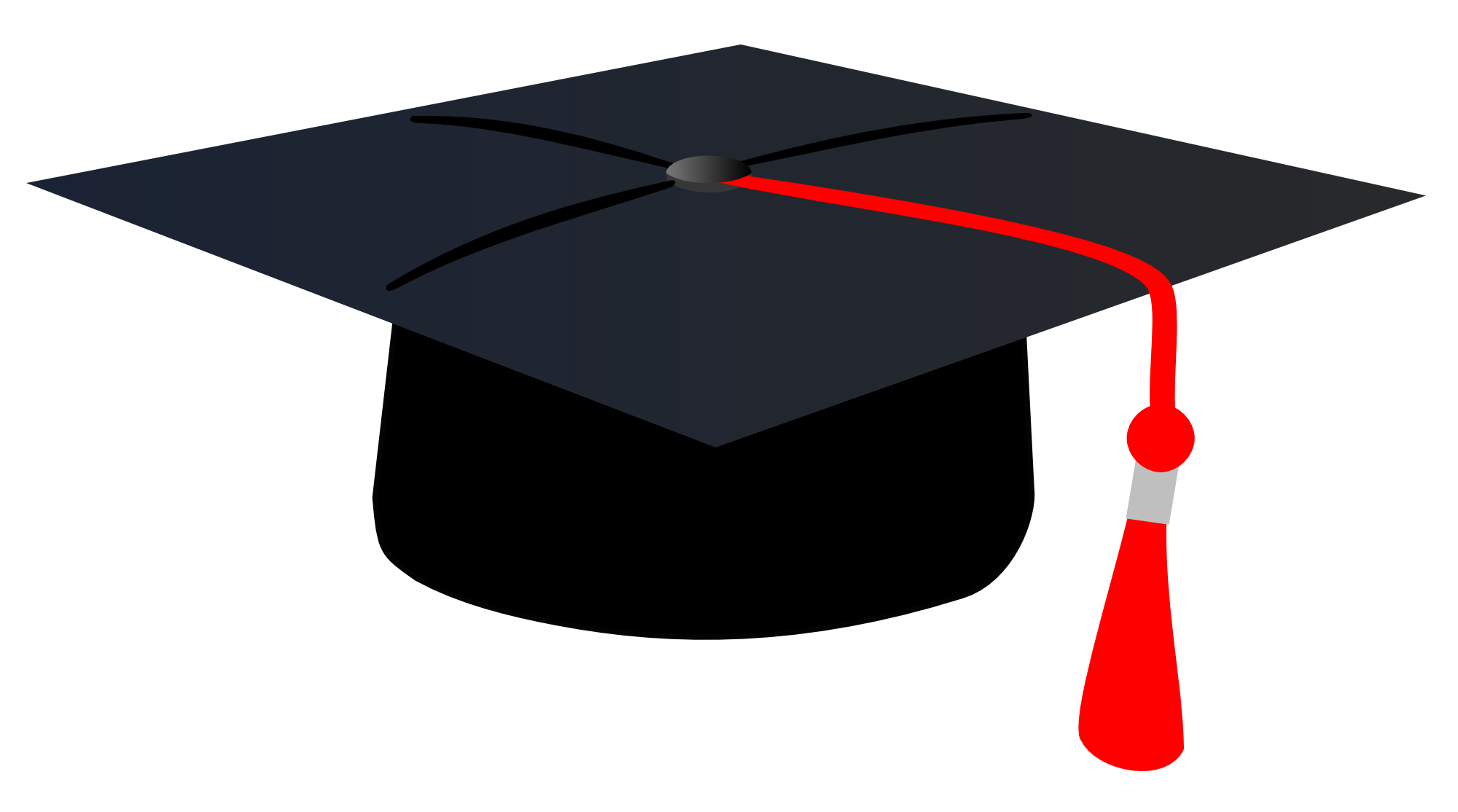 picture royalty free library Graduation Cap Clipart PNG Image