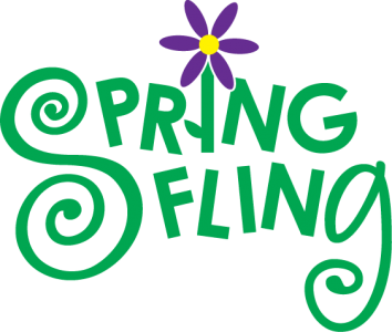 royalty free Sfta event spring fling. Upcoming events clipart