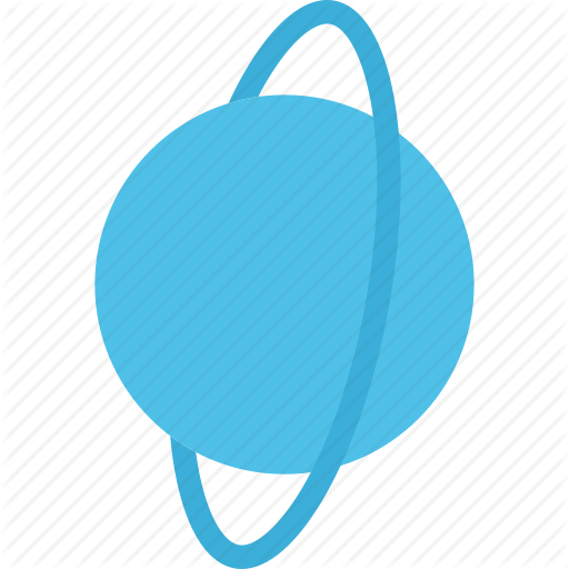 graphic royalty free Planets flat by last. Uranus transparent clip art
