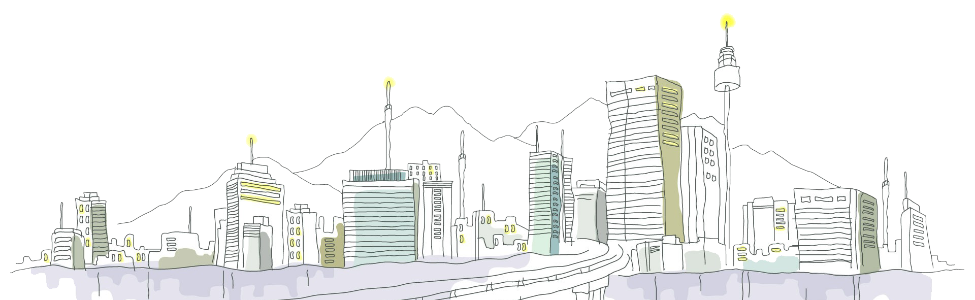 svg free download Urban drawing downtown.  k resolution travel