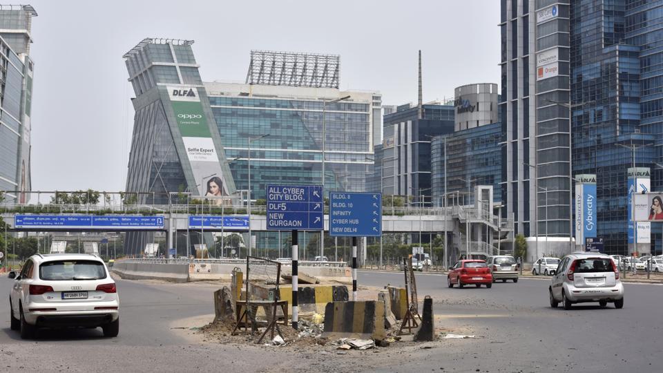 clip art download Urban vector city gurgaon. Poor signage confuses commuters