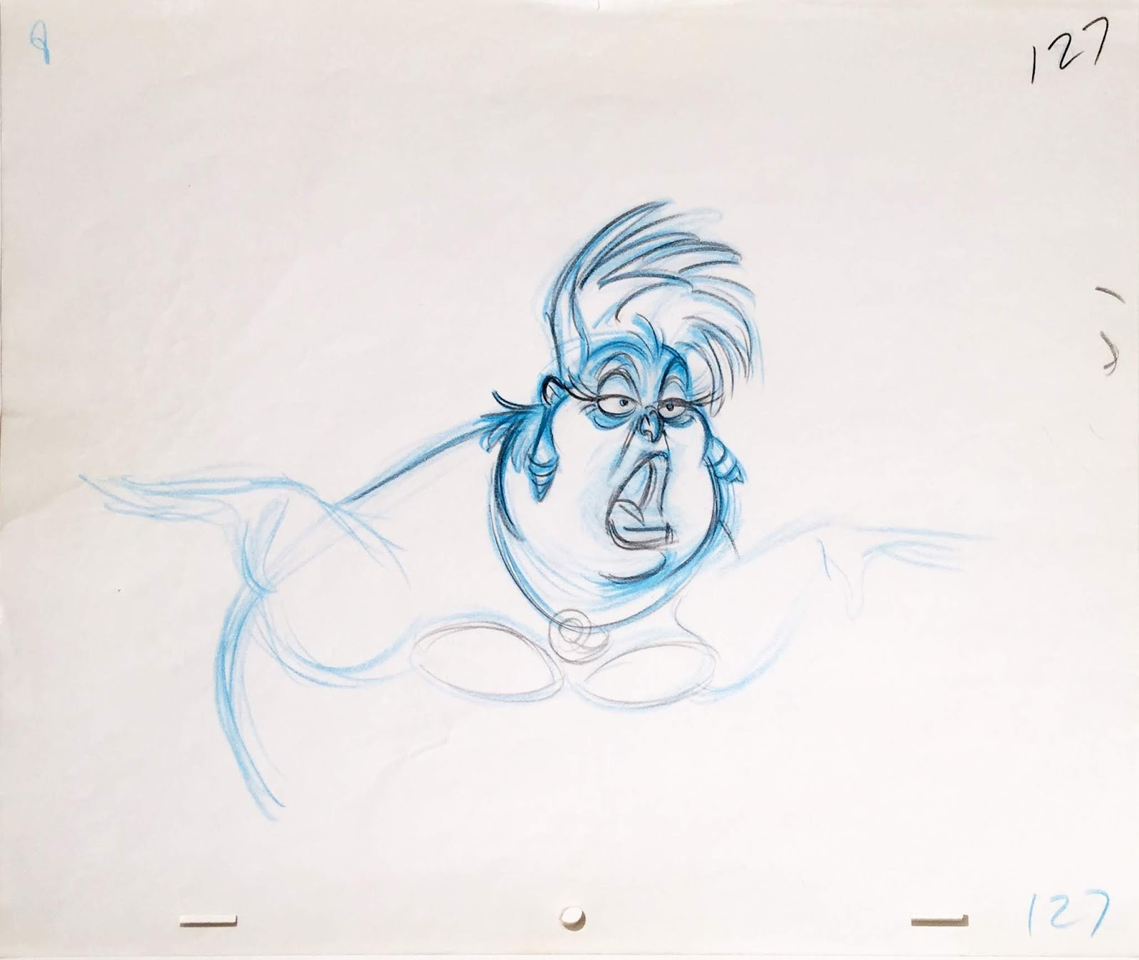 picture freeuse stock Collection original production . Ursula drawing animation