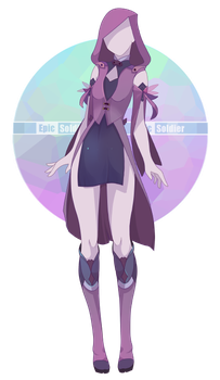 transparent Ursula drawing costume. Custom outfit commission by