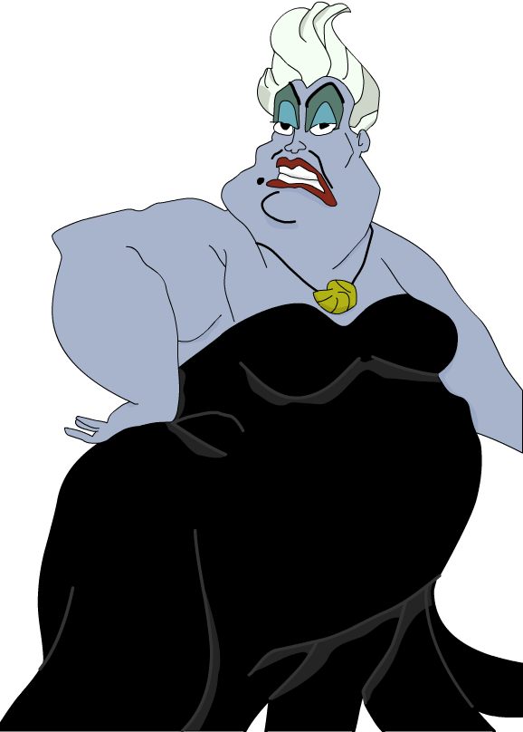 clipart royalty free download Humour ramblings from the. Ursula drawing modern