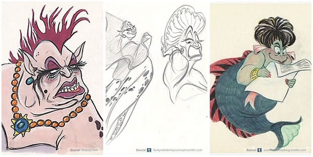 png library download Ursula drawing original. Disney the little mermaid