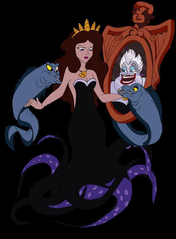 png free Ursula drawing vanessa. By karmadash on deviantart