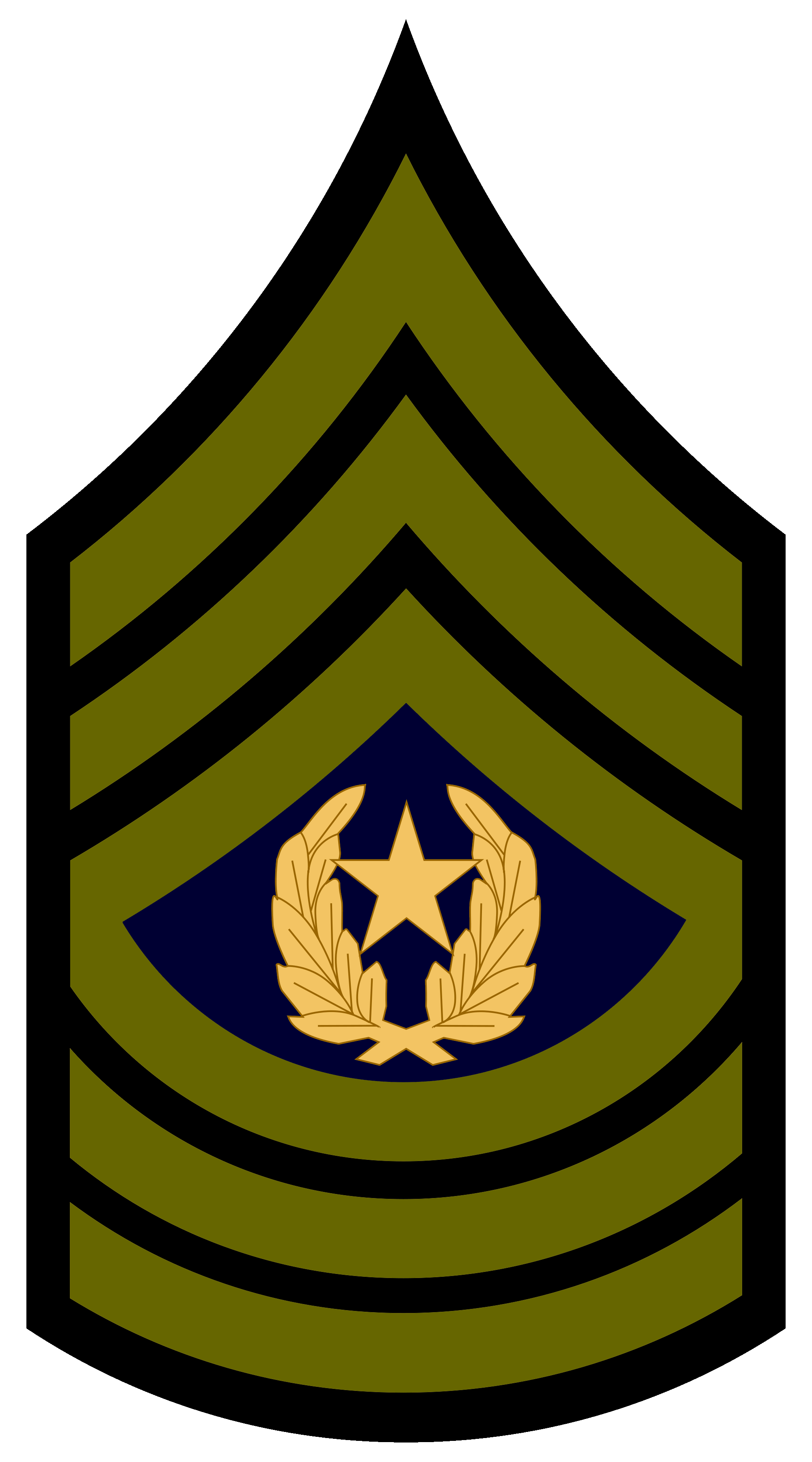 vector royalty free Csm rank png transparent. Us army clipart