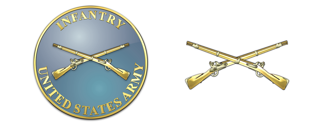 clipart freeuse stock Us Army Infantry Crossed Rifles PNG Transparent Us Army Infantry