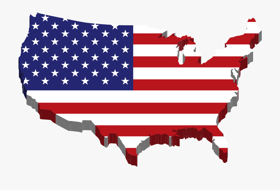 vector royalty free stock Us clipart. Flag american banner free.