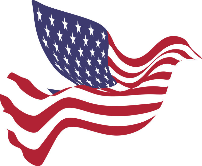vector free download us flag clipart #69869163