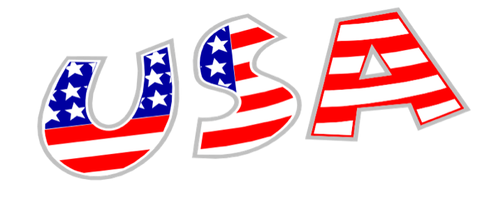 image transparent Usa clipart. American flag free graphics
