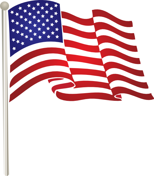 picture royalty free Usa Flag Clip Art at Clker