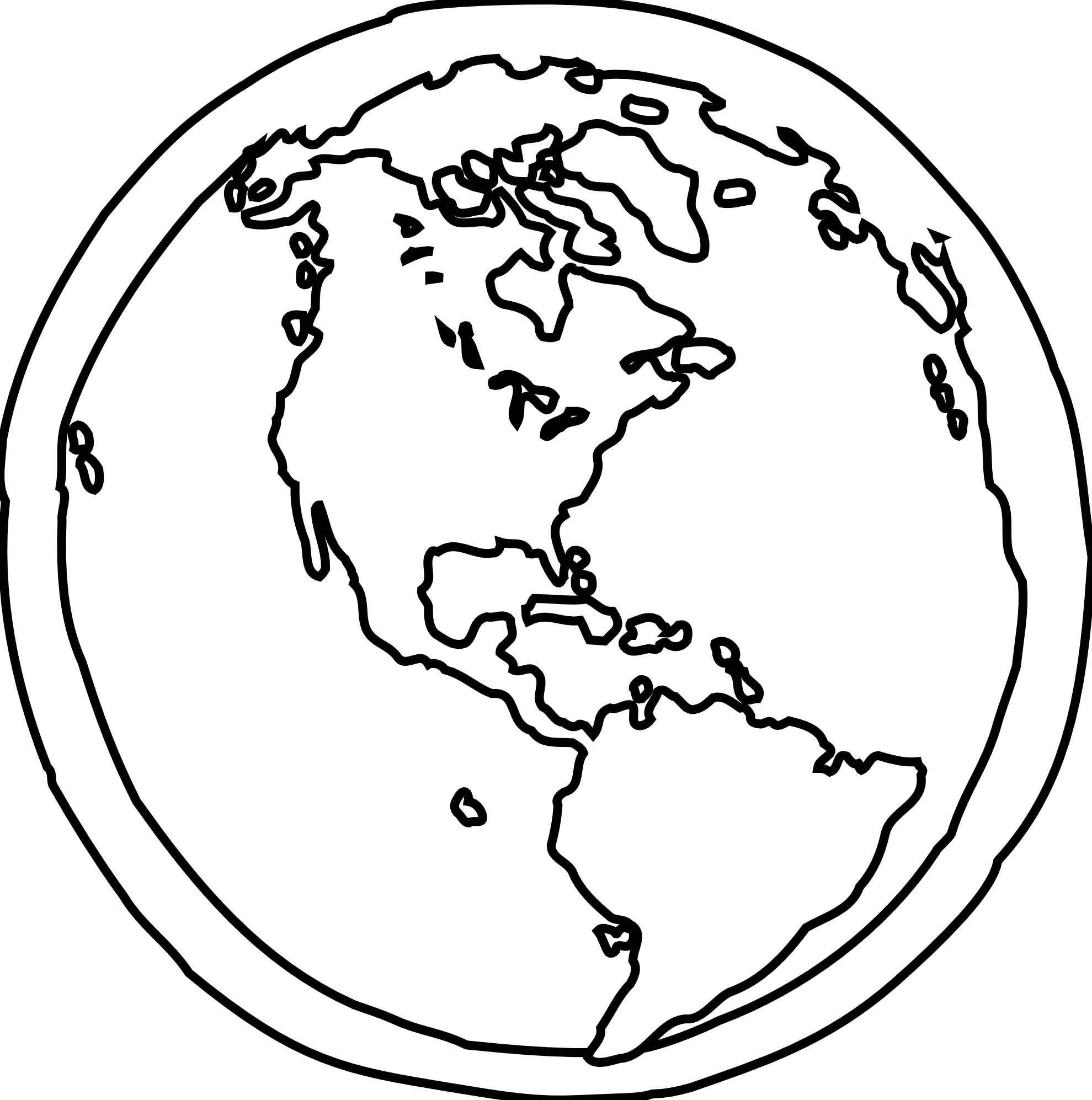 banner royalty free Black and white at. Usa drawing earth