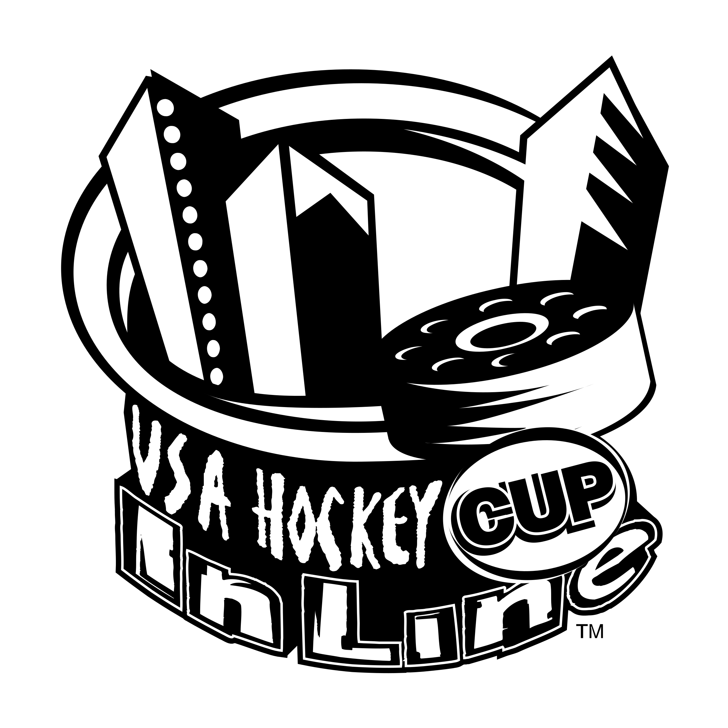 transparent stock Hockey inline cup png. Usa drawing logo