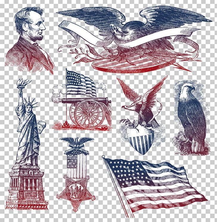 download Usa drawing symbol. United states bald eagle