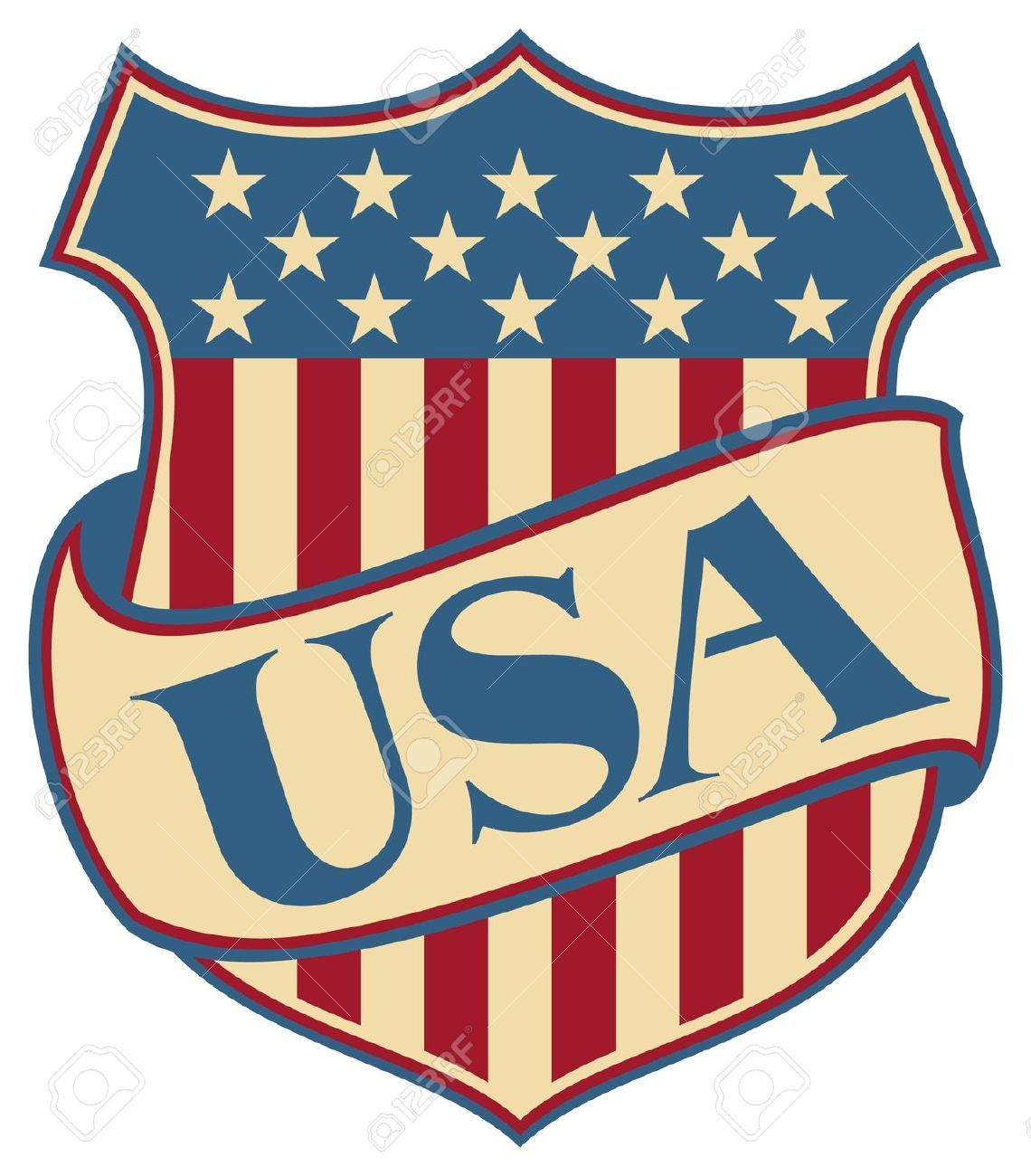 picture free stock Usa drawing symbol. Stock vector th of