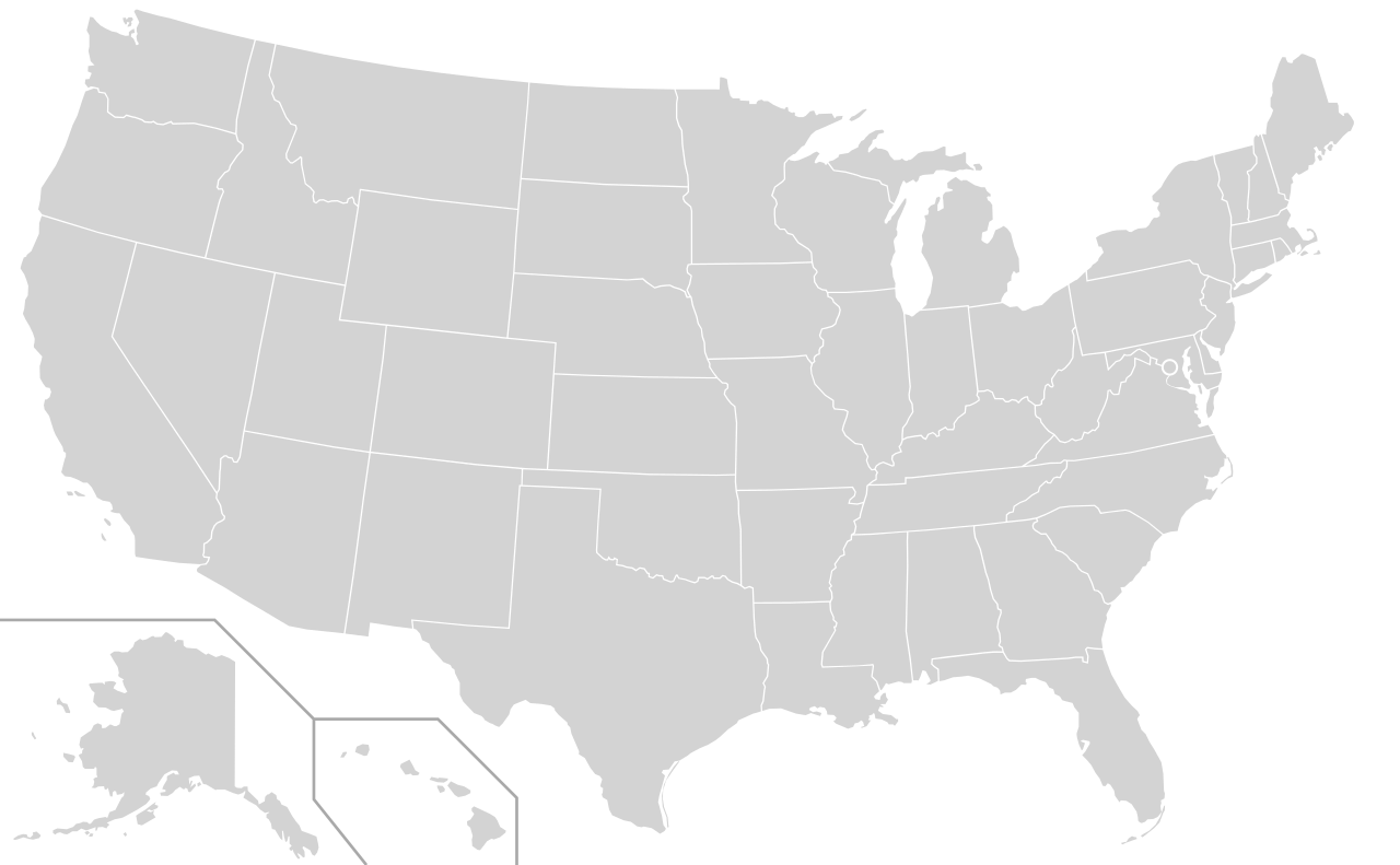 graphic library stock Usa svg. File blank us map