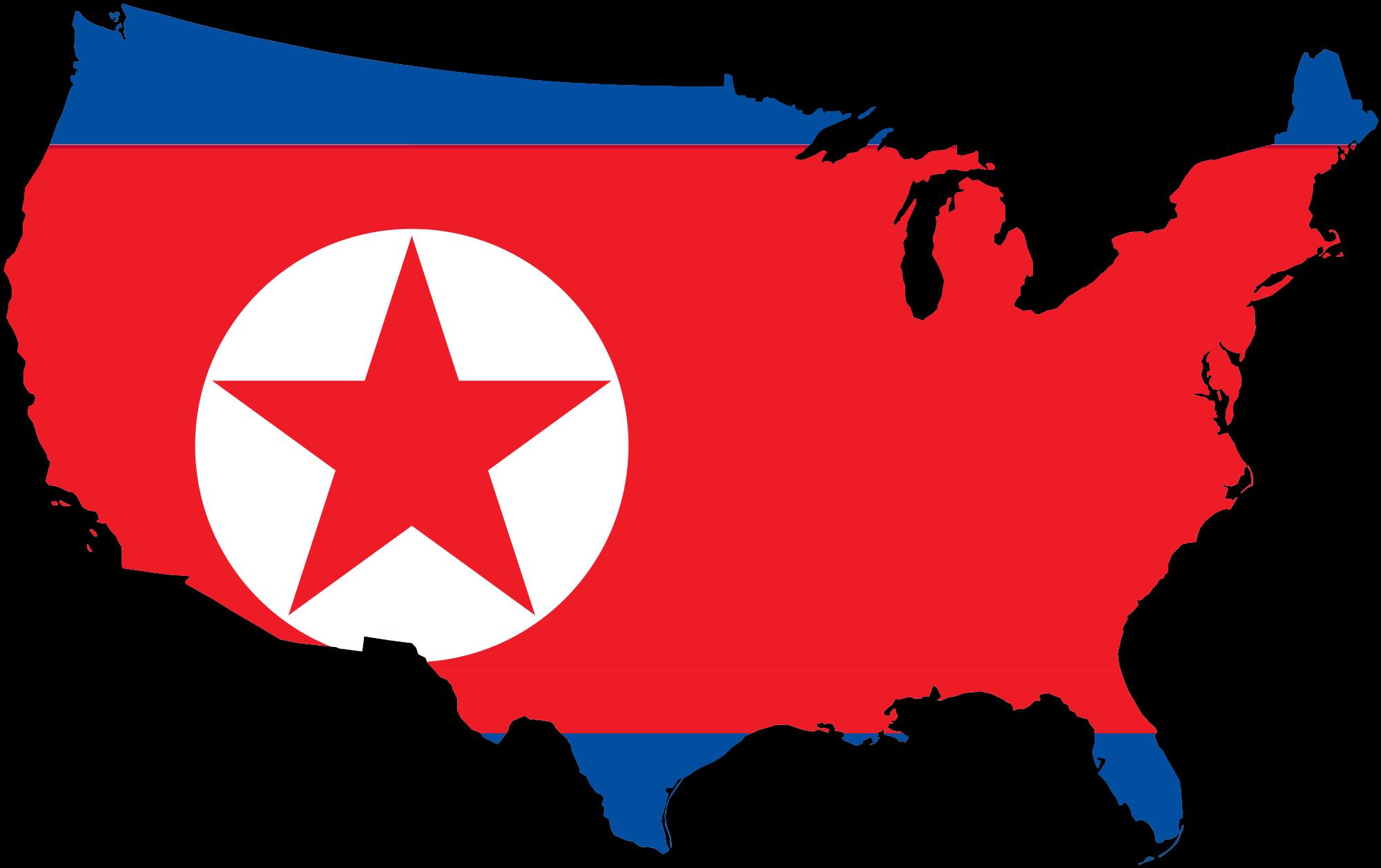 clip art transparent Flag map of kpdr. Usa svg file