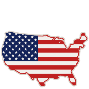 clipart freeuse download Usa svg file. United states scrapbook cut