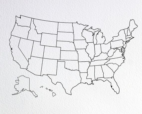 png royalty free stock Usa svg line drawing. North america map united