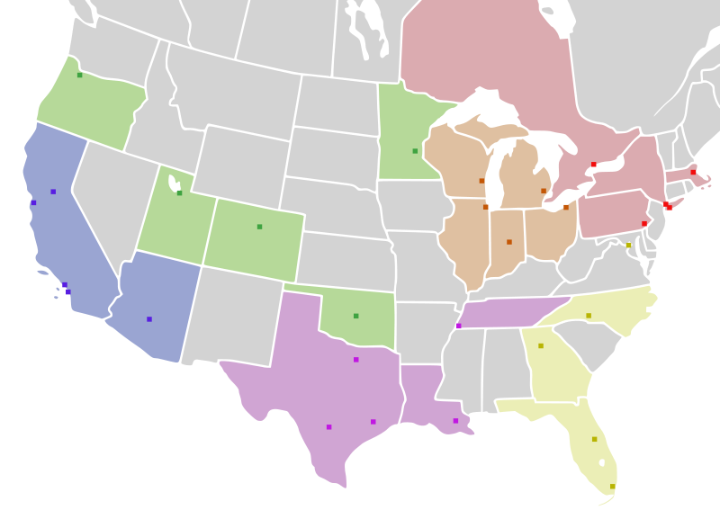 free library Image of and canada. Usa svg map