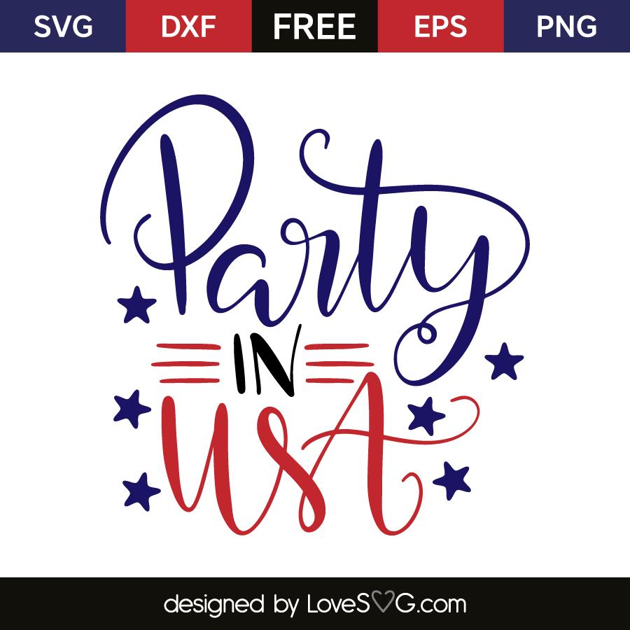 clip art freeuse download Usa svg party. In lovesvg com