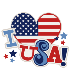 svg free download Usa svg silhouette. I heart title scrapbook