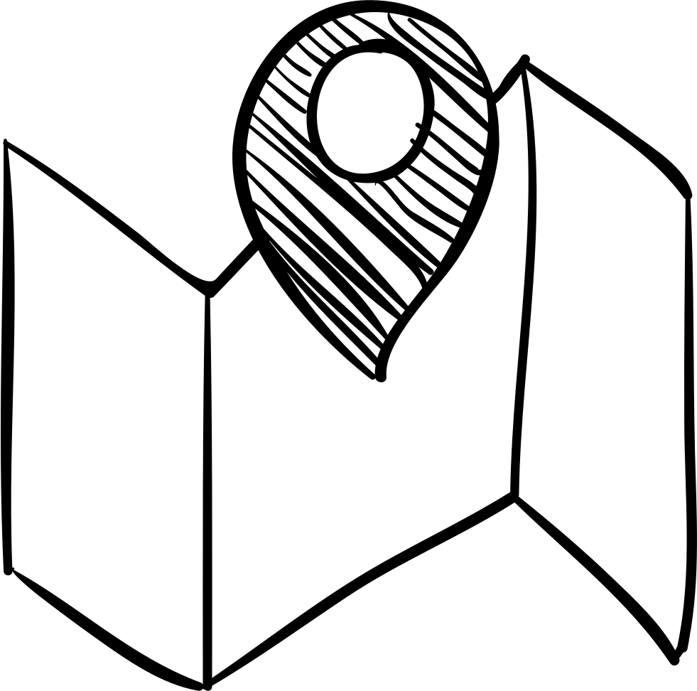 banner black and white library Usa svg sketch. Map with a placeholder