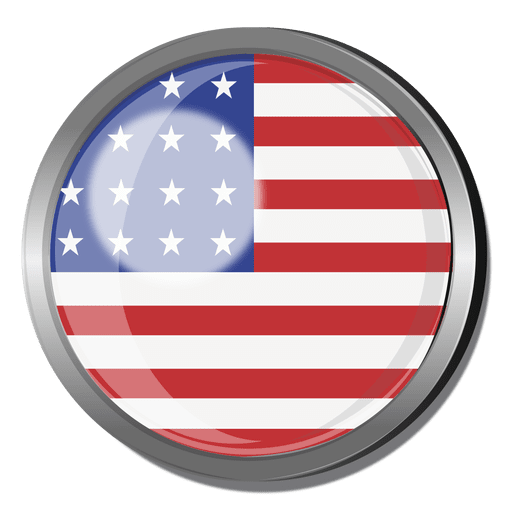 clipart royalty free library Usa transparent badge. Flag png svg vector