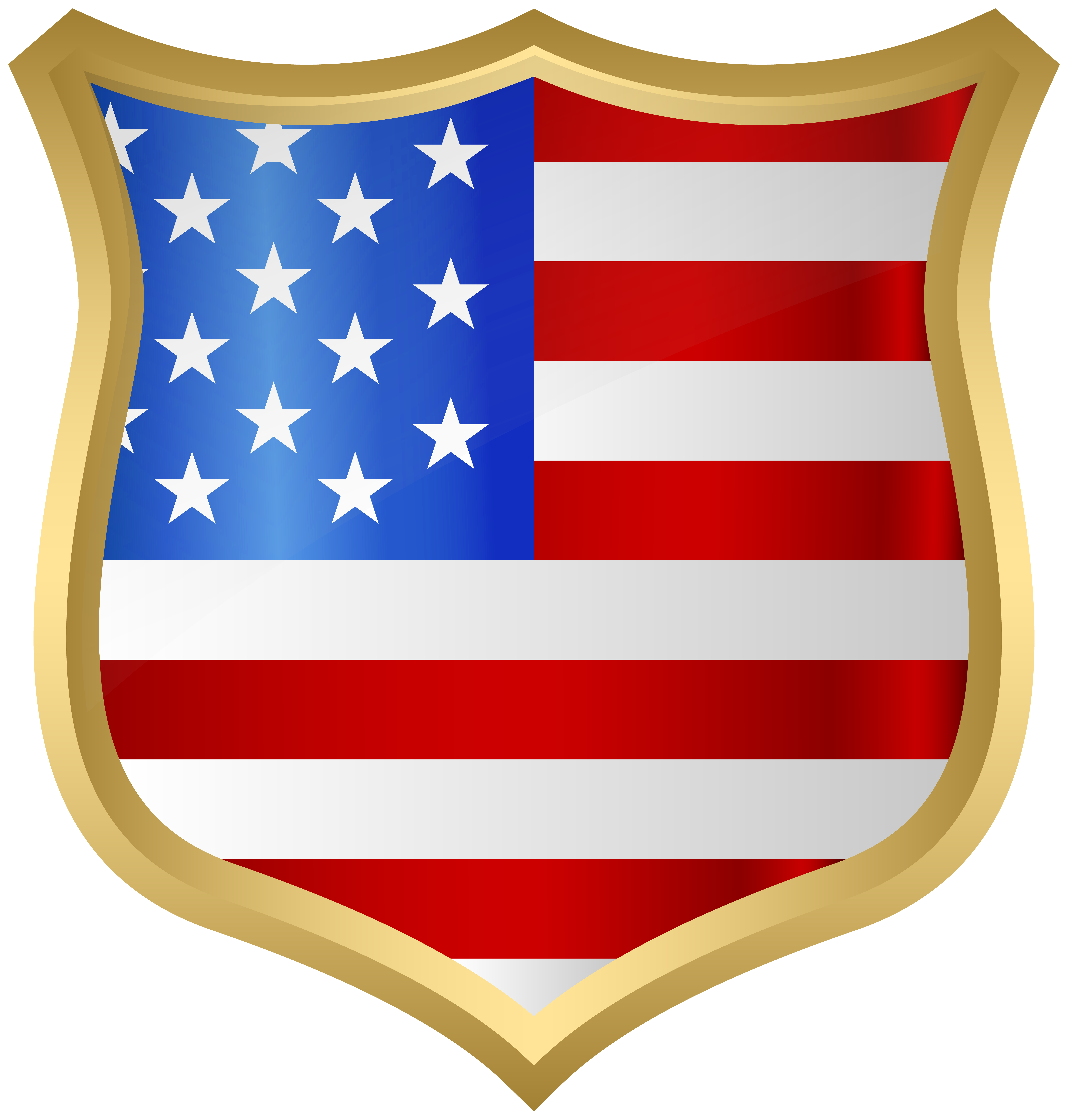 clipart freeuse download Usa transparent badge. American png clip art