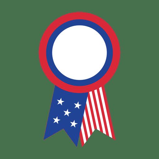 vector stock Flag ribbon png svg. Usa transparent badge