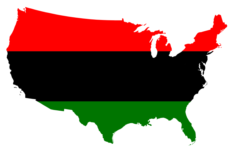 svg free download Usa transparent black. Are we african americans