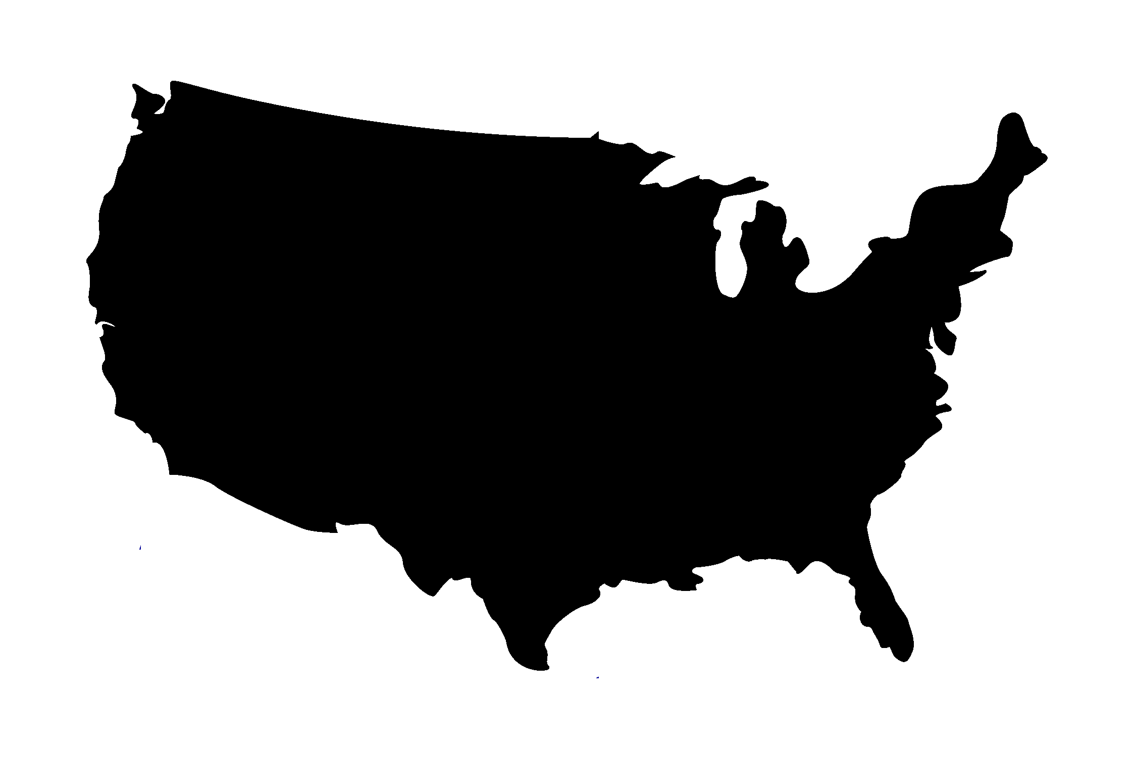 clip free stock Us map png free. Usa transparent black.