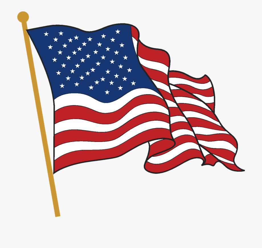 picture download American flag wave clipart. Usa transparent cartoon
