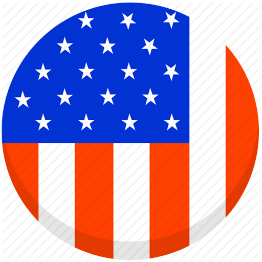 clip transparent stock American flag png round. Usa transparent circle