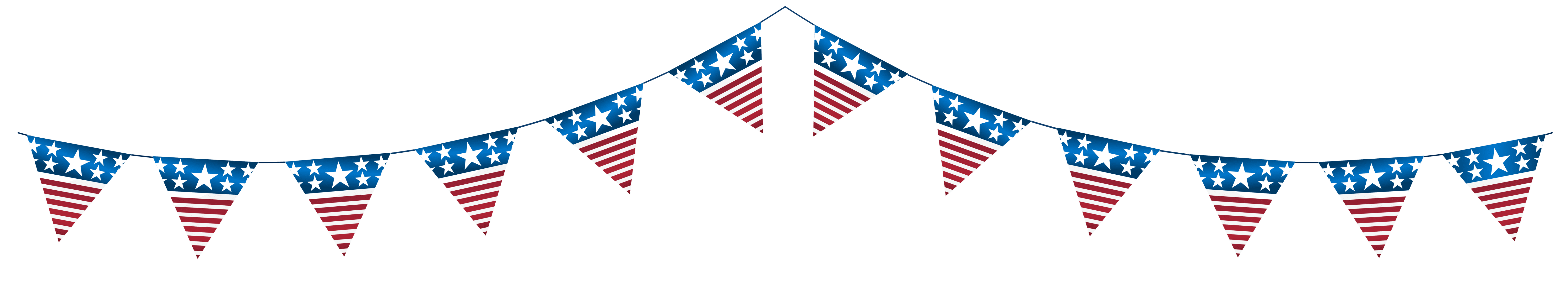 library Usa transparent clipart. Streamer png clip art