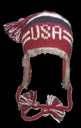 clip freeuse stock Usa transparent hat. Fur pilot