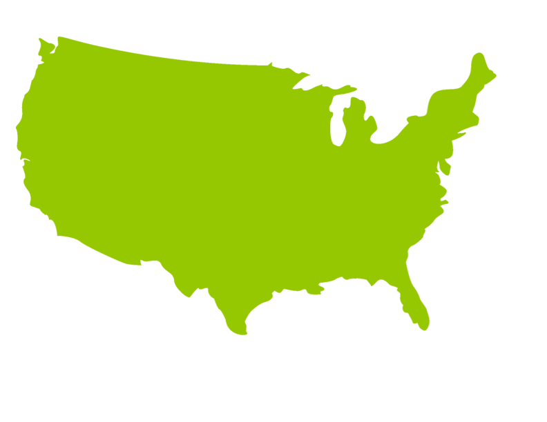 banner download United states map at. Usa transparent silhouette