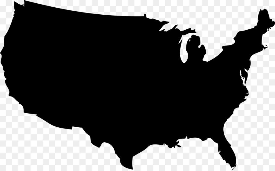 jpg free Usa transparent silhouette. Map cartoon clipart graphics