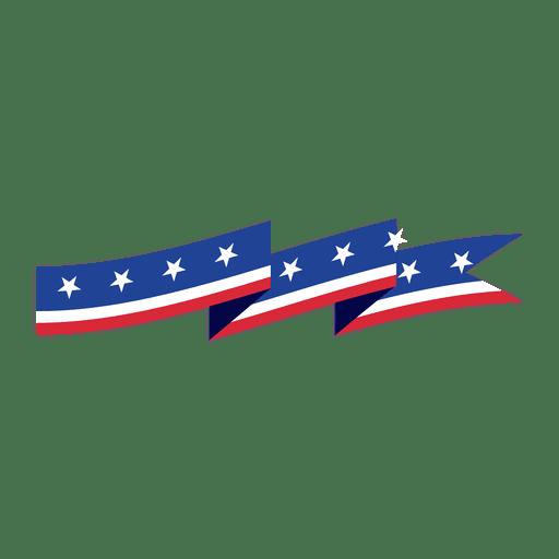svg transparent download Usa transparent vector. Origami flag ribbon png