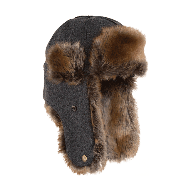 clip art transparent The northwoods trapper hat. Ushanka transparent