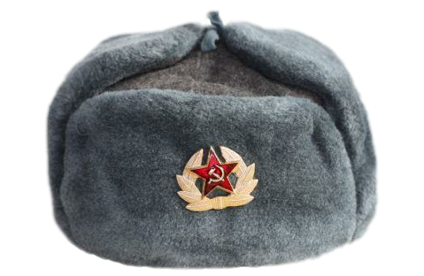 png freeuse download Soviet russia hat sticker. Ushanka transparent background