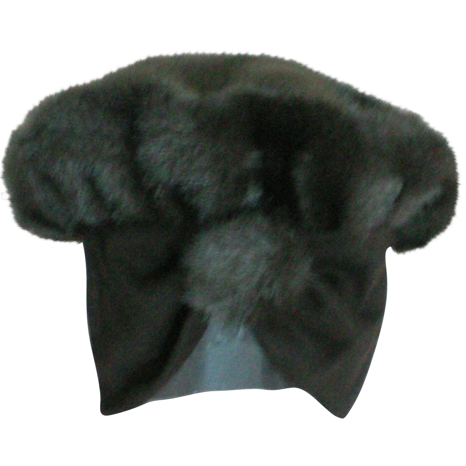 picture free Faux fur hat with. Ushanka transparent beanie