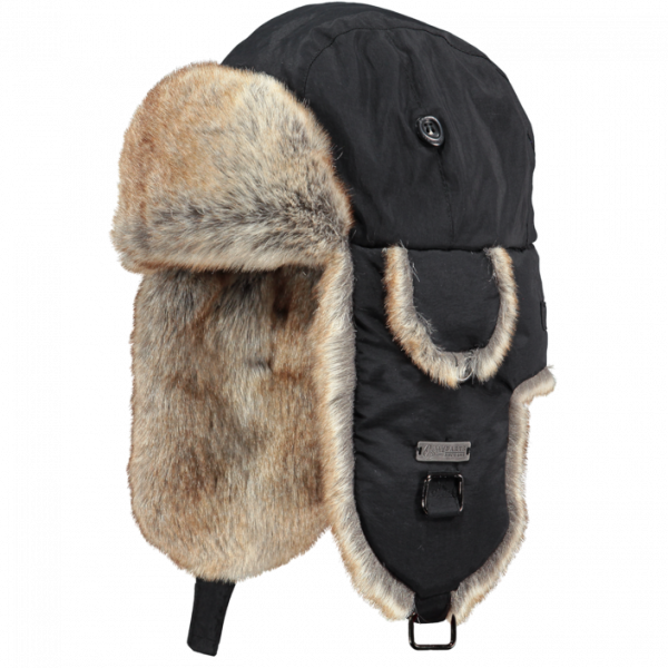 graphic black and white download Trapper hats toque chapeau. Ushanka transparent cold war