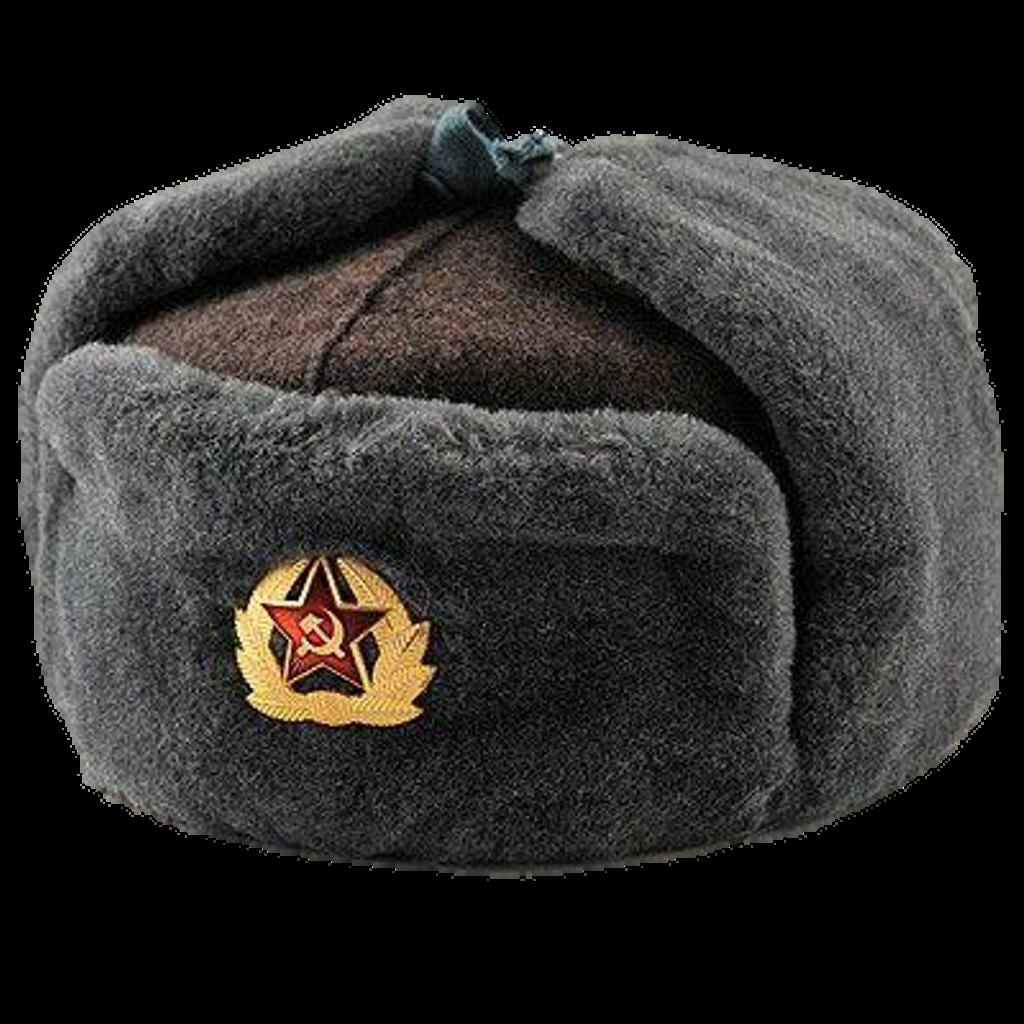 royalty free library Communism comrades . Ushanka transparent communist