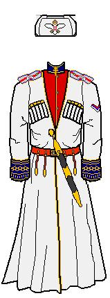 png stock Serbian royal uniform by. Ushanka transparent cossack