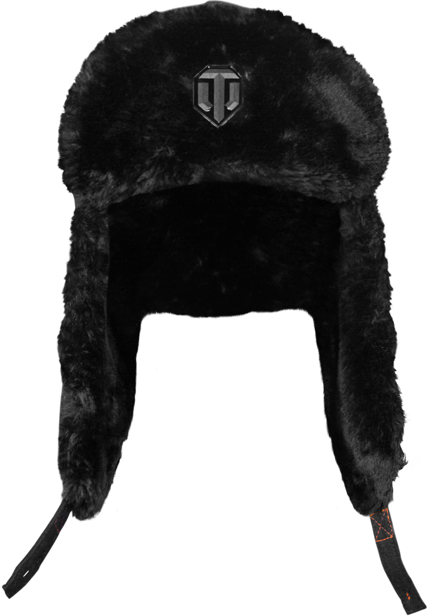 picture black and white stock By musterbrand winter season. Ushanka transparent officer's